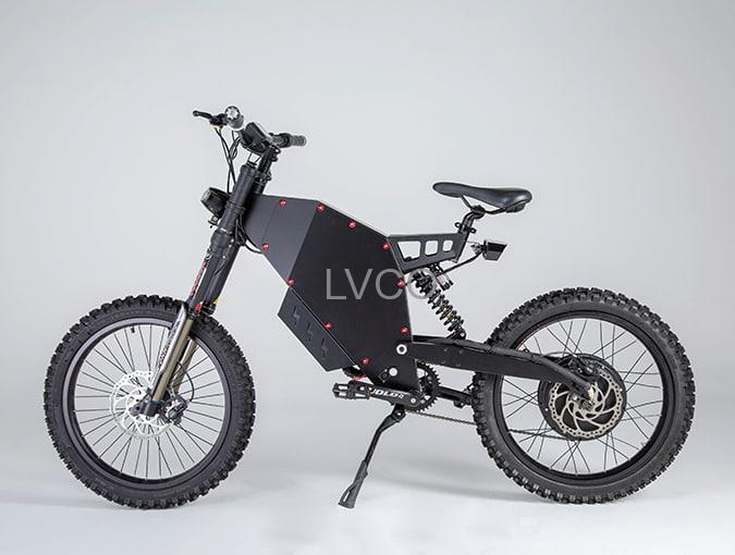 fat enduro stealth bomber electric bike 72v 3000w off road ebike