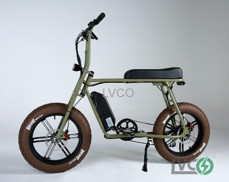 fat tire electric bike 500w 48v electric bike